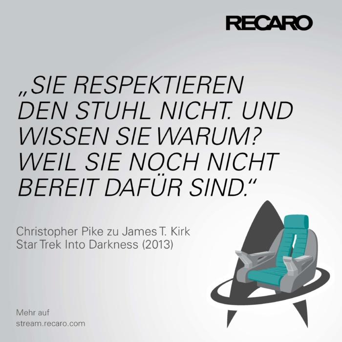Zitat aus Star Trek Into Darkness