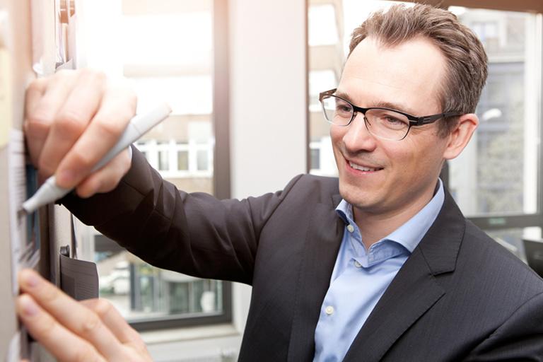 Michael Heimrich, Head of Innovation Management bei RECARO Child Safety