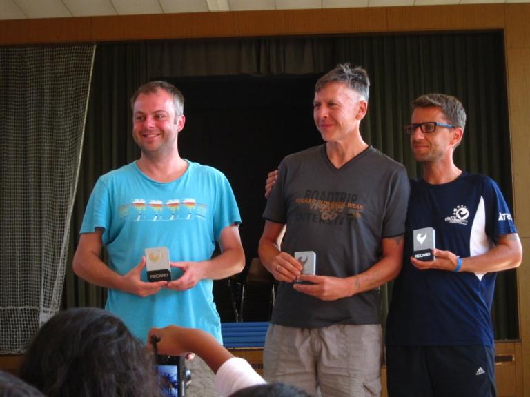 Jeder Teilnehmer ist ein Sieger und erhält einen Pokal.